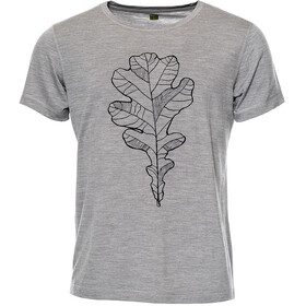 Röjk Stroller Merino Tee Men Grey Oak Leaf
